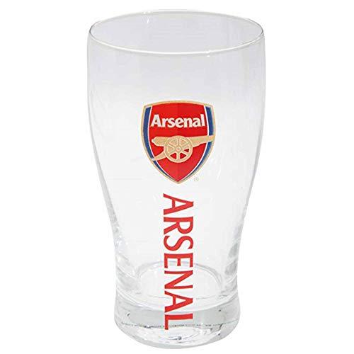 Official Premier League Arsenal FC Crest Pint Glass