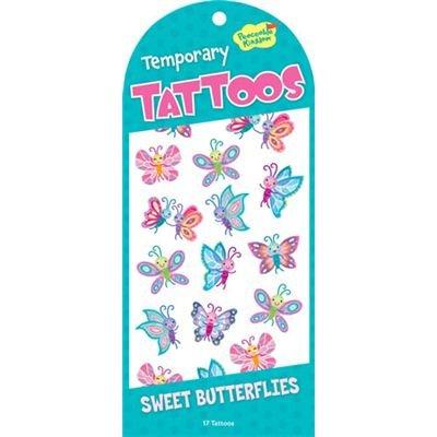 Jouer tatouages temporaires - Papillons Doux