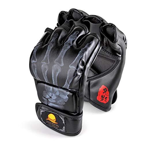 guanti da boxe ZooBoo - Guanti da MMA UFC con materiale ad alta resistenza per uomini e donne