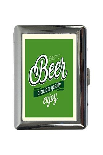 Zigarettenetui Box Nostalgie Bier Bestes Bier Bedruckt