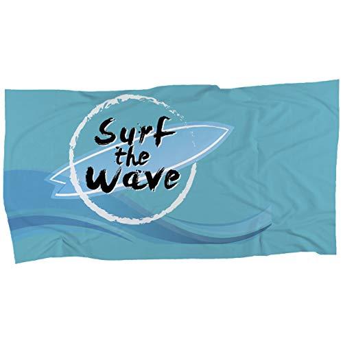 My Custom Style Serviette #Summer Time Surf# Microfibre Fullprint 40 x 30 cm