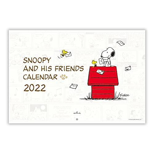 日本ホールマーク スヌーピー 2022年 カレンダー 壁掛け 大 790608