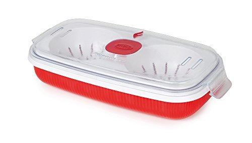 Behälter mit Deckel für Kochen Mikrowelle Eier Omelett Omelette