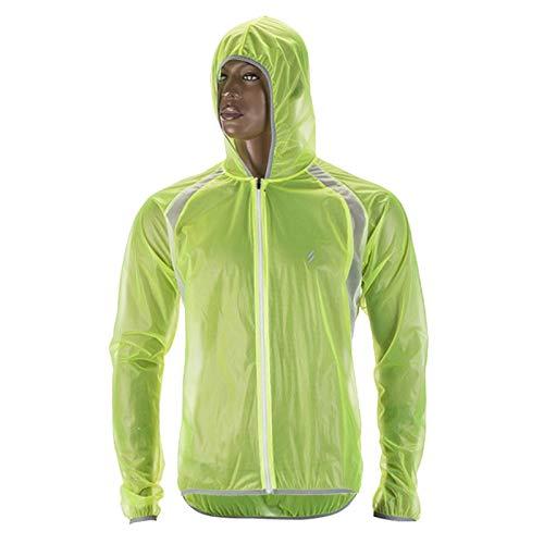 Jenghfnifer Jersey de ciclismo impermeable chaqueta de ciclismo impermeable para bicicleta MTB (tamaño: M; color: color de foto)