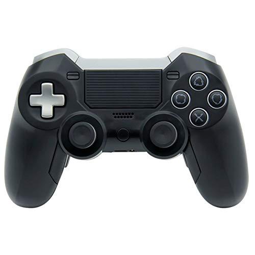 hyy La Nueva Cuarta Generación Bluetooth 4.0 Joystick Controlador Inalámbrico De Juegos Ps4 Accesorios Controlador De Juegos Joystick,Black