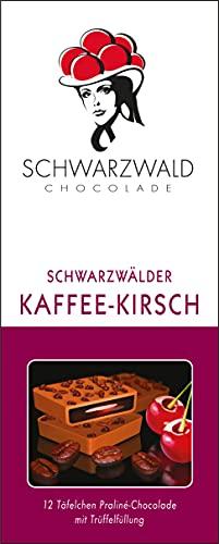 FeineHeimat Schwarzwald Chocolade Schwarzwälder Kaffee-Kirsch 100 Gramm Original aus dem Schwarzwald