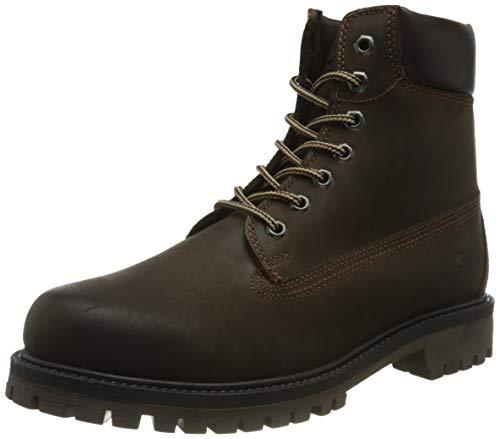 Tom Tailor Mens 9089601 Mid Calf Boot Bootie Boot, Espresso, 12 UK