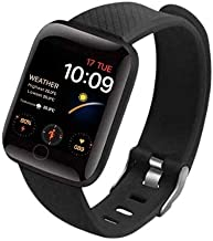 Rhobos [Summer Specia: Today Only Sale] D-119 Touchscreen Smart Watch Bluetooth Smartwatch with Heart Rate Sensor and Basi...