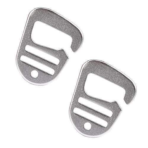 Toygogo 2 Stü Metall G Haken Gurtband Schnalle Schnellverschluss Für Camping Wanderrucksack