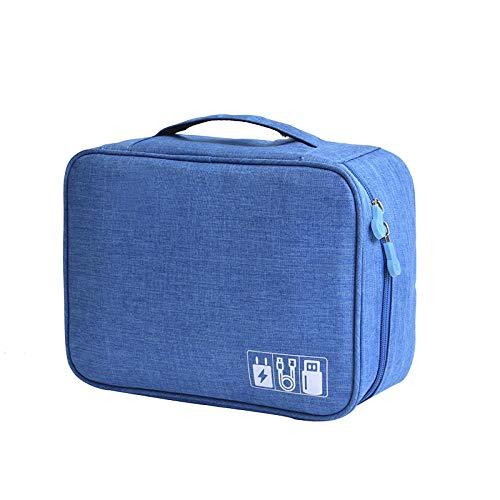 Anzinia Travel Cable Bag Portable Digital USB Gadget Organizador Cargador Cables Cosméticos...