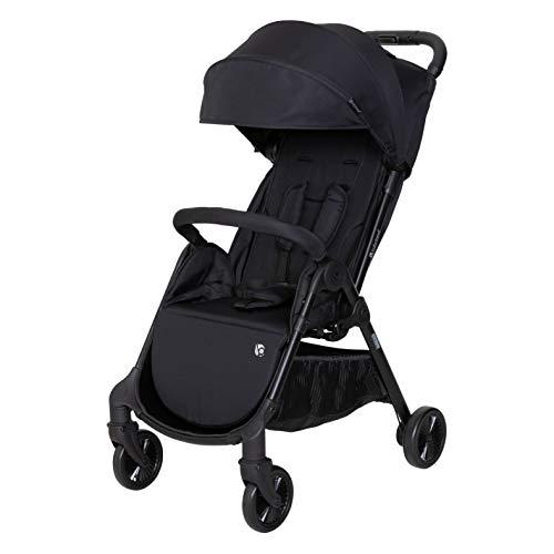 Baby Trend Gravity Fold Stroller, Black Stone