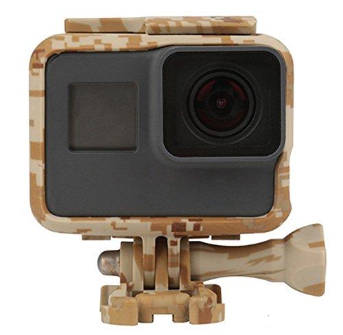 Gopro 5 accessoires., C: GoPro 5 behuizing bruin