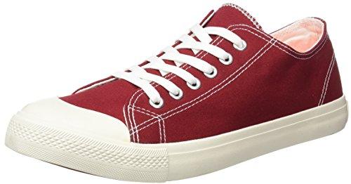 Springfield Sneaker Basica, Zapatillas Hombre, Rojo (Red), 45 EU