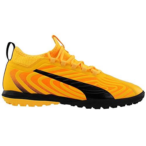 PUMA Mens One 20.3 Turf Soccer Cleats Turf - Yellow - Size 7.5 D