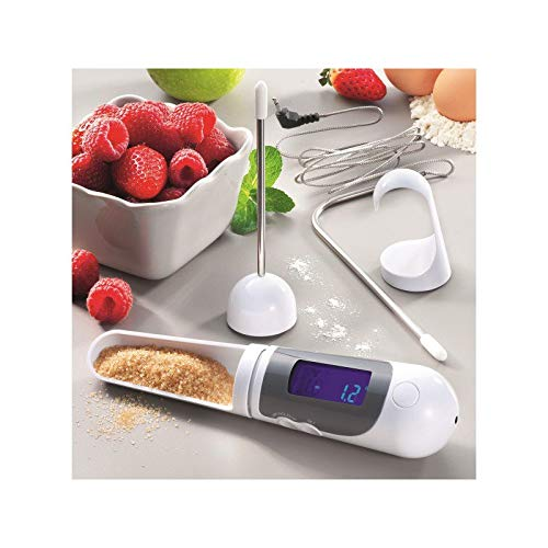 Generique 011350 Cuillère Balance/Thermomètre Digital au Four/Sonde 21 cm