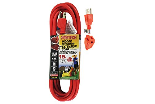 POWTECH Heavy duty Outdoor/Indoor 3 Wire...