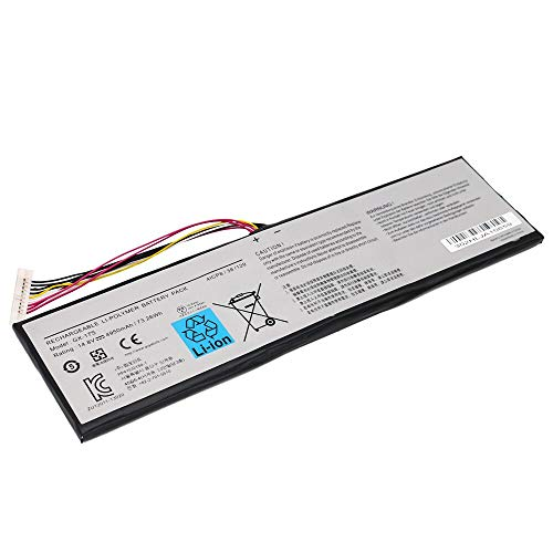 Szhyon Fit for GX-17S Laptop Battery Fit for GIGABYTE AORUS X3 X3 PLUS V3 X7 X7 v2 X3 Plus v5 X5S 14.8V 73.26wh 4950mAh