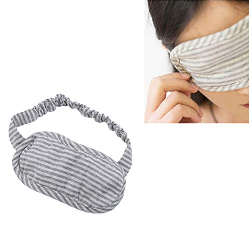 Underleaf Eyeblinder Femmes Eye Mask Shield Goggle Cover Unisex Travel Noon Break Accessoires