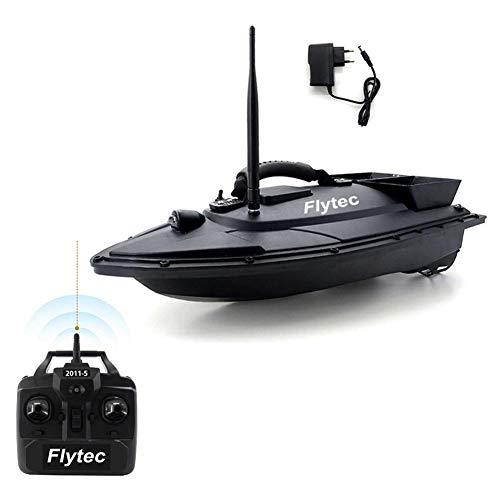 Runningfish Flytec 2011-5 RC ferngesteuertes Boot zum Angeln, Belastung 1,5 kg, Reichweite der Fernbedienung 500 m, Angeln Werkzeug Köder Boot Spielzeug Fisch Finder Fernbedienung Fischerboot Schiff