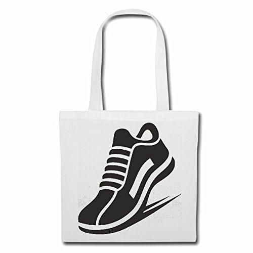 sac à bandoulière SNEAKER SNEAKER LIFESTYLE FASHION STREETWEAR HIPHOP SALSA LEGENDARY Sac Turnbeutel scolaire en blanc