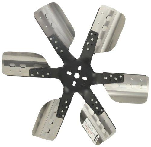 """Derale 17018 Heavy Duty Fan Blade Series 1000 18"""" Stainless Steel Flex Fan Standard Rotation"""