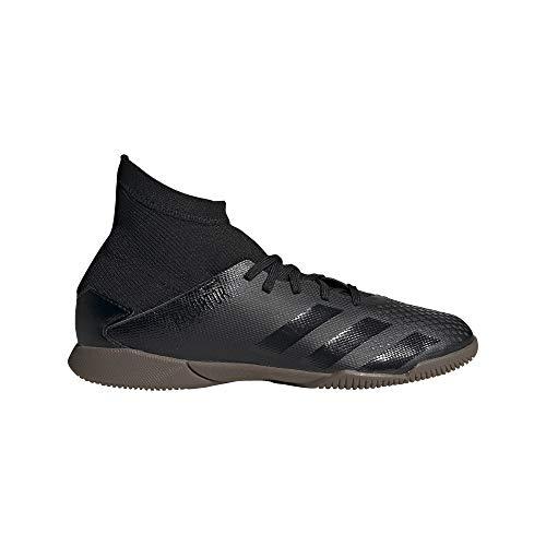 adidas Predator 20.3 IN J, Zapatillas Deportivas Unisex niños, Core Black/Core Black/DGH Solid Grey