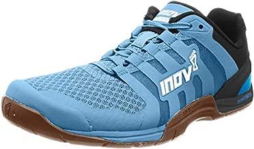 Inov-8 Womens F-Lite 235 V2 - Lightweight Minimalist Cross Training Shoes - Zero Drop - Athletic Shoe for Gym, Training and Weight Lifting - Wide Toe Box - Light Blue/Gum M4/ W5.5