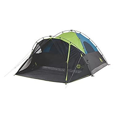 Coleman Carlsbad Fast Pitch Cabin Tent with Screen Room, 6-Person