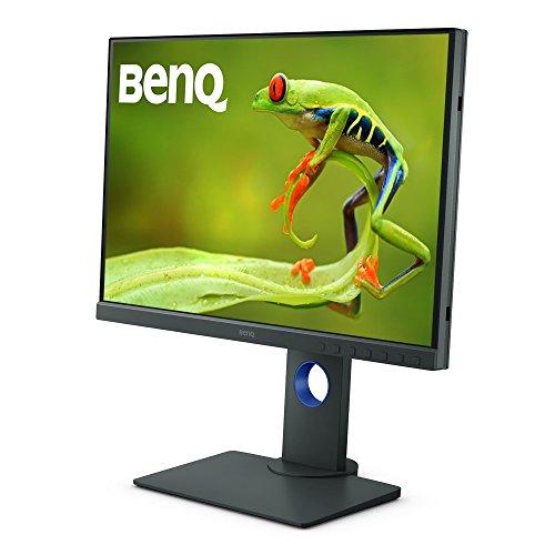 BenQ カラーマネジメントモニター ディスプレイ SW240 (24.1型/1920×1200/IPS/16:10/AdobeRGB 99%/DCI-P3 95%/キャリブレーション対応)