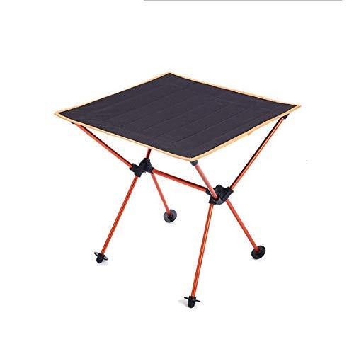 ZXL Opvouwbare Camping Lichtgewicht Tafel Aluminium Super Indoor Outdoor Draagbaar (Kleur: Rood)