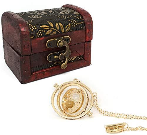 """Sanduhr-Halskette """"Turner of Time"""" mit Geschenkbox."""