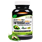 120 Capsules - All Natural Muscle Relax Formula Plus - 1,150 Milligram Strong - Daytime/Nighttime 24/7 Muscle Relaxer - Maximum Strength Natural Relaxant