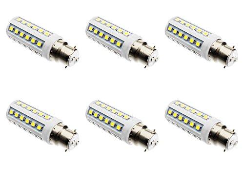 Paquete De 6 9W 42x 5050 Patata frita bombilla LED