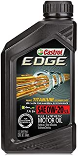 Castrol Engine Oil, Edge 0W-20 dexos