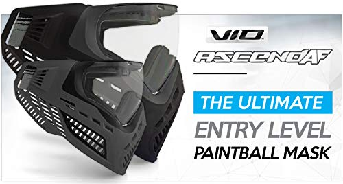 Product Image 2: Virtue VIO Ascend AF Paintball Mask/Goggle with Anti-Fog Lens – Black