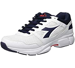 Diadora Shape 10, Zapatillas de Running Unisex Adulto, Multicolor (Bianco/BLU Corsaro C1494), 40 EU: Amazon.es: Zapatos y complementos
