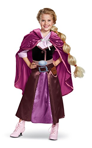 Disney Rapunzel Tangled The Series Girls' Deluxe Travel Costume, Purple