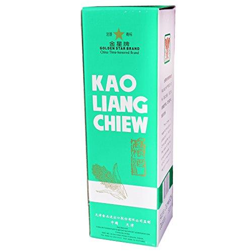 Sparen! 6x500ml Golden Star Kao Liang Chiew Original chinesische Spirituose