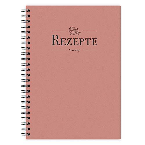 etmamu 742 Rezeptbuch A5, 102 Seiten, zum Selber Schreiben   DIY Kochen