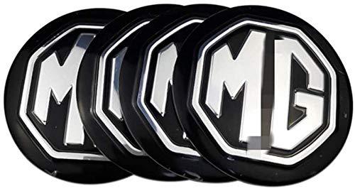 MG TF ZR ZS ES HS EZS Morris 3 GS cubierta del centro de la rueda, etiqueta engomada de la marca del embalaje del neumático del coche, etiqueta engomada de la cubierta del centro de la rueda