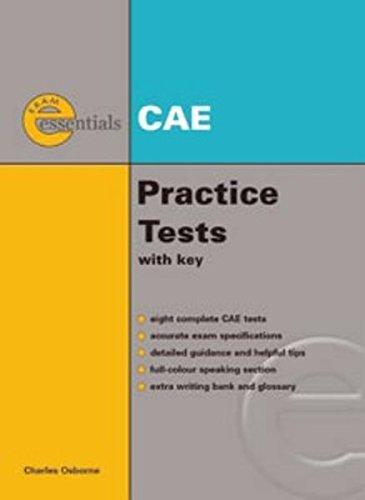 Exam Essentials. CAE. Practice Tests (libro + CD)