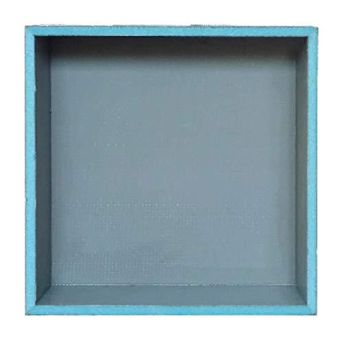 Ducha de 33 x 33 cm de Niche resistente al agua, a prueba de fugas, listo para instalación de azulejos, almacenamiento para champú y jabón