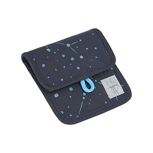 LÄSSIG Brustbeutel Brusttasche Umhängetasche Geldbeutel, Kordel mit Kindersicherung/Mini Neck Pouch Magic Bliss Boys, 13 cm