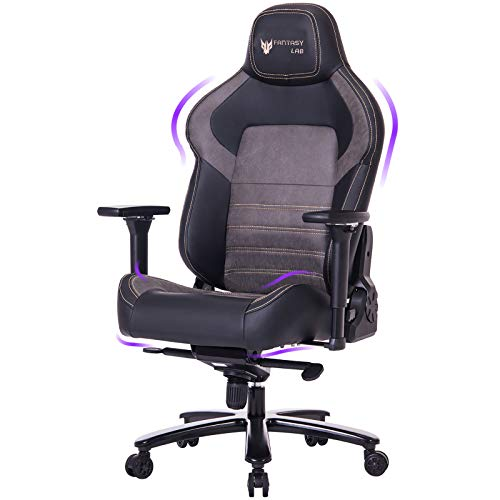 Big and Tall 440lb Gaming Chair Racing Office Chair - Gel Cold Cure Foam...