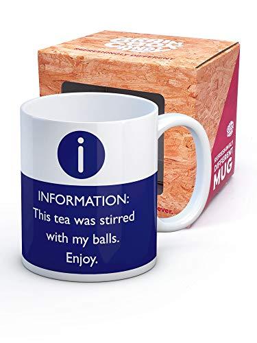 Brainbox Candy - Funny Mug For Him - Gift Boxed Novelty Secret Santa...