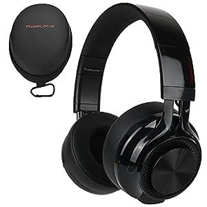 HD Stereo und tiefer Bass - Bluetooth-Kopfhörer mit verbesserten 40-mm-Audiotreibern, die satte Bässe und brillante Höhen für ein beeindruckendes Erlebnis bieten – jedes Mal, wenn Sie Ihre Playlisten anhören. Wir haben unsere Over-Ear-Kopfhörer mit w...