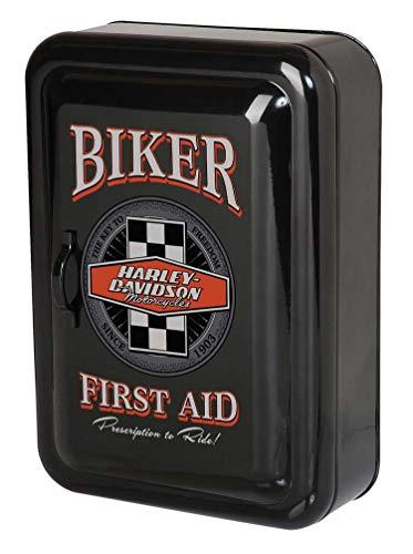 Harley-Davidson Biker Key Rack Locking Cabinet, Durable Steel HDL-15104