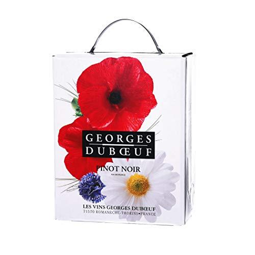 Georges Duboeuf - Pinot Noir - Rotwein (trocken) aus Frankreich/Beaujolais – 1x Bag-in-Box 3L