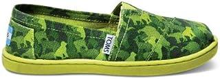 TOMS Kids Classics Green Animal 10000491