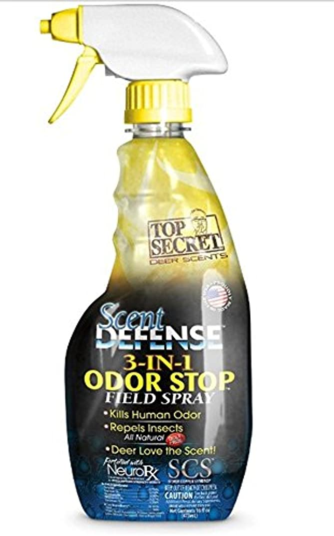 Scent Defense Human Scent Eliminator SD1001 Field Spray, 16oz